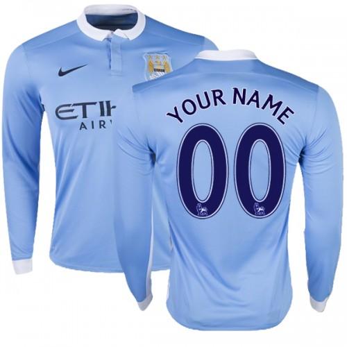 b343bbb4f Men_s_Customized_Manchester_City_FC_Jersey_15_16_Premier_League_Club_Nike_Authentic_Sky_Blue_Home_Soccer_Long_Sleeve_Shirt.jpg